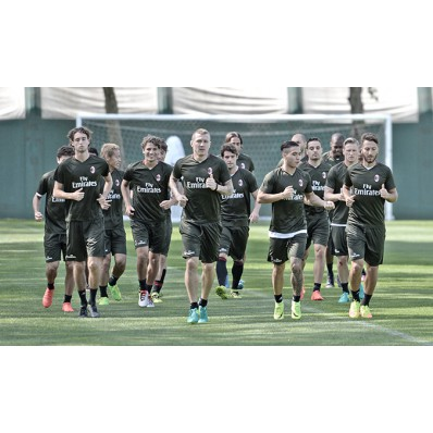 Allenamento AC Milan nazionali