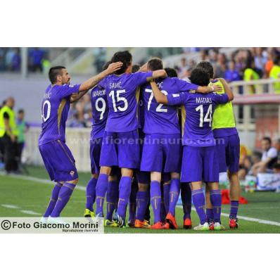 Allenamento Fiorentina merchandising