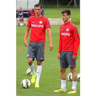 Allenamento calcio PSV nazionali