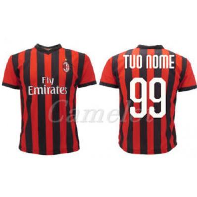 Maglia Home AC Milan personalizzata