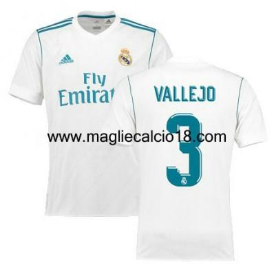 Maglia Home Real Madrid Vallejo