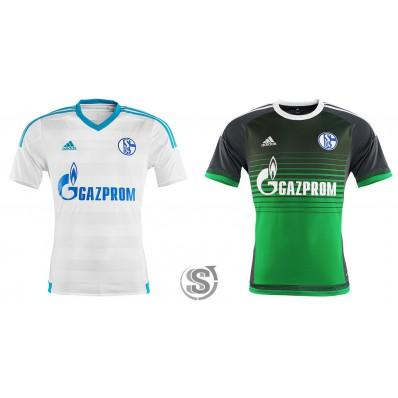 Seconda Maglia FC Schalke 04 prima