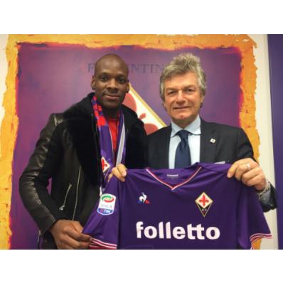 Seconda Maglia Fiorentina BRYAN DABO