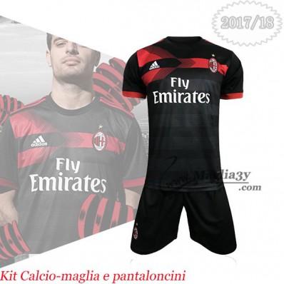 Terza Maglia AC Milan completini