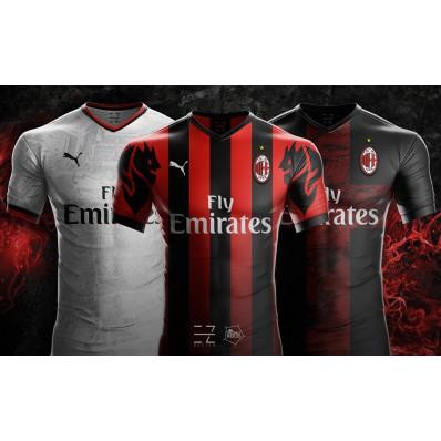 Terza Maglia AC Milan ufficiale
