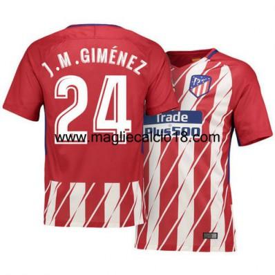 Terza Maglia Atlético de Madrid J. M. Giménez