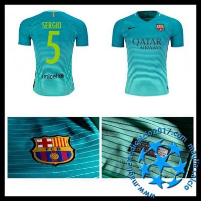 Terza Maglia FC Barcelona Sergio