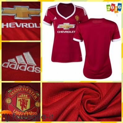 completo calcio Manchester United Donna