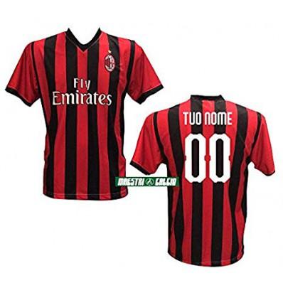 divisa AC Milan personalizzata