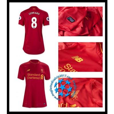divisa calcio Liverpool Donna