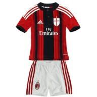 completo calcio AC Milan completini